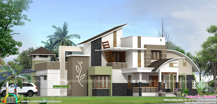 Kerala Home designs:   by House Designs