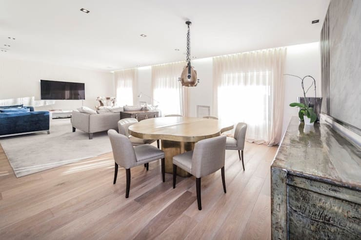 modern Dining room by DOMUS NOVA