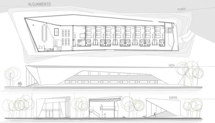 BS.AS. FOOTBALL: Bares y Clubs de estilo  por Speziale Linares arquitectos
