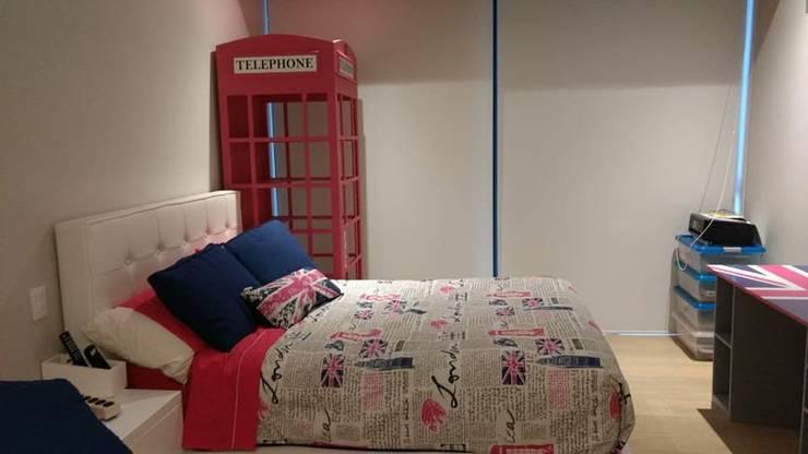 Recamara Infantil Londres: Habitaciones infantiles de estilo  por Divan ingenieria