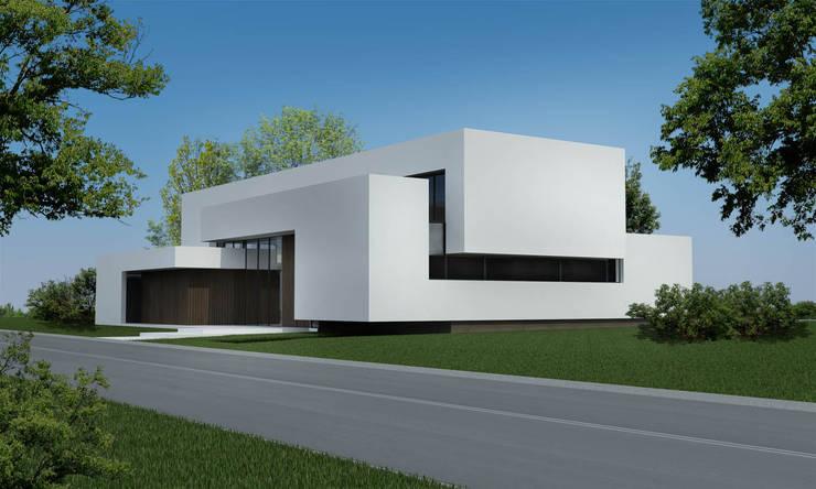 CASA DC: Casas de estilo  por Speziale Linares arquitectos,