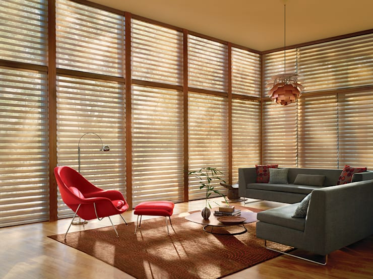 Silhouette® / Hunter Douglas: Oficinas y tiendas de estilo  por Skyfloor