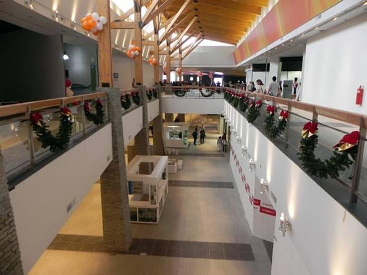 Paseo Del Fuego: Shoppings y centros comerciales de estilo  por Sevita +studio,