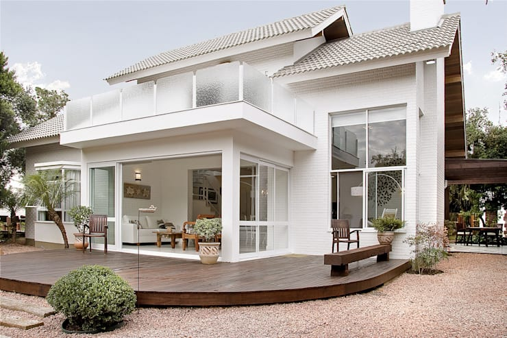 Rumah pedesaan by Maciel e Maira Arquitetos