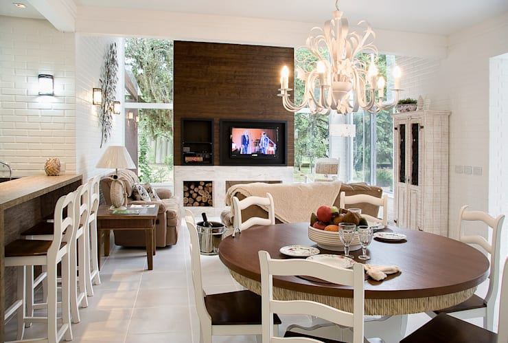 Ruang Keluarga by Maciel e Maira Arquitetos