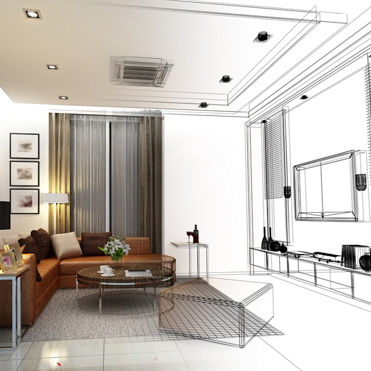 Design Interior:   door Invisible Airco BV