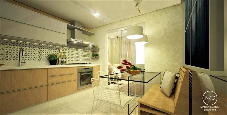 وحدات مطبخ تنفيذ Maicon Ramos arquitetura