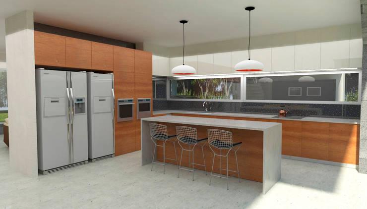 Cocinas: Cocinas de estilo  por IMAGENES MR,Moderno