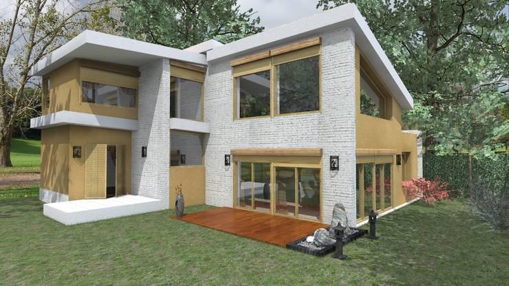 Ampliación y Refacciones: Casas de estilo  por Arq. SILVA RAFAEL C. & ASOC.,