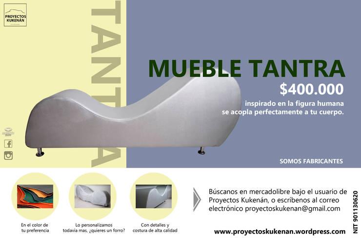 Banner mueble tantra :  de estilo  por Proyectos Kukenán SAS, Moderno