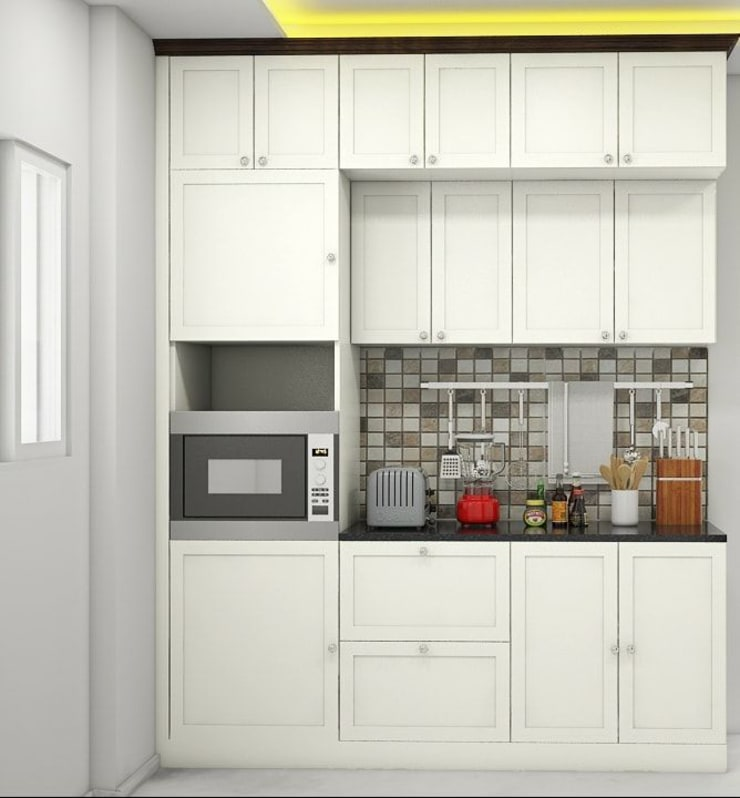 Kitchen:   by Aamuktha Designs