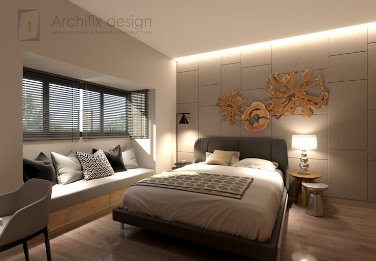 Bedroom by Công Ty TNHH Archifix Design,