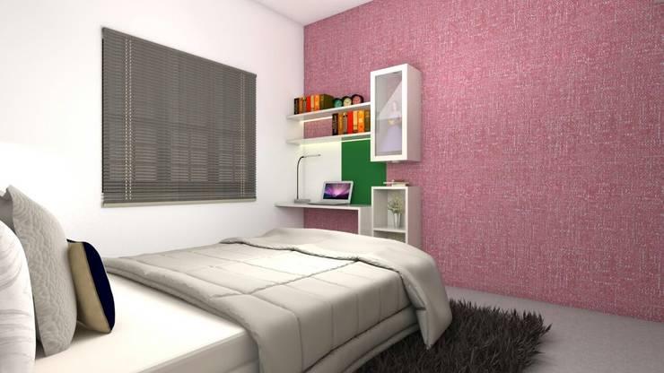 Interiors:  Nursery/kid's room by Kruthi Interiors