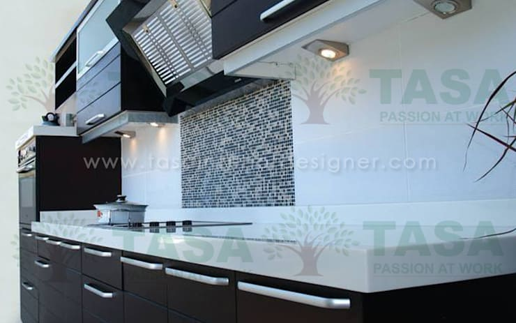 Modular Kitchen: modern Kitchen by TASA interior designer