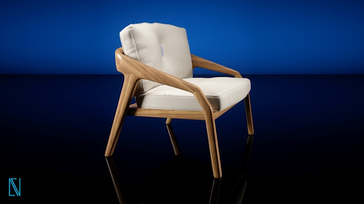 Friday Chair:  de estilo  por Visualport