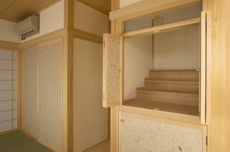 ห้องสันทนาการ โดย (有)中尾英己建築設計事務所, โมเดิร์น