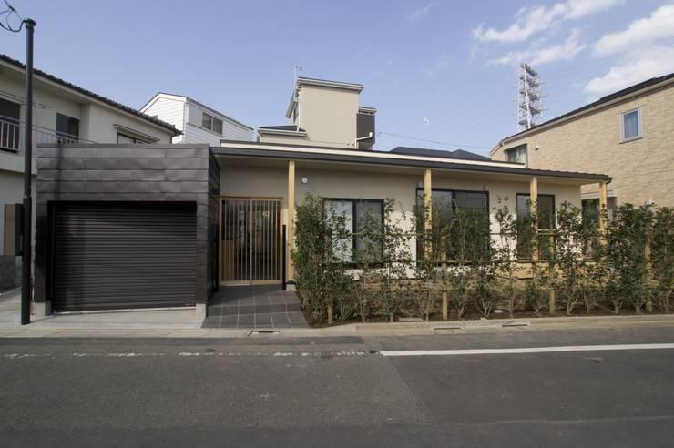 บ้านและที่อยู่อาศัย โดย (有)中尾英己建築設計事務所, โมเดิร์น
