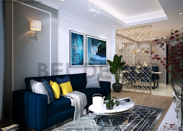 ​Project: HO17123 - ✨✨✨Luxury Apartment✨✨✨:   by Bel Decor