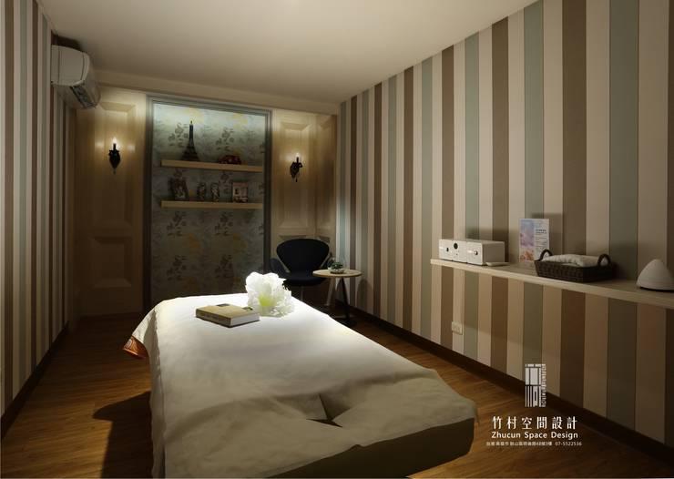 VIVI SPA 永華店:   by 竹村空間 Zhucun Design