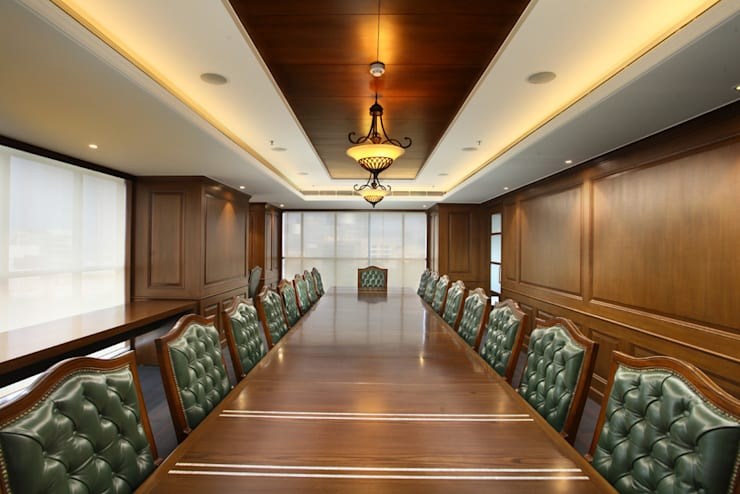 Conference room:  Office buildings by SDINC,Classic