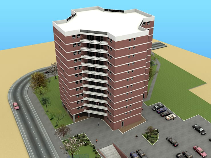 Architectural 3D Modeling:   by AutoCAD Drafting India