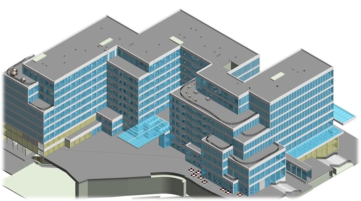 Architectural BIM Modeling:   by AutoCAD Drafting India