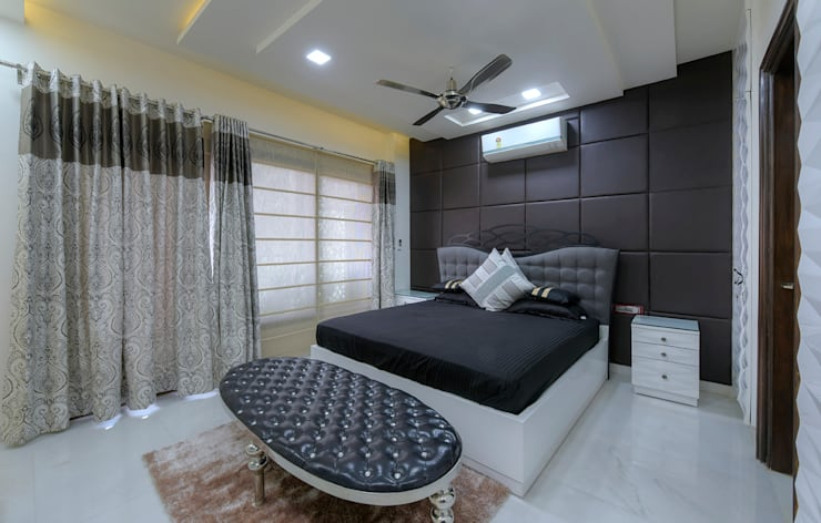 Residential Project: modern Bedroom by shritee ashish & associates