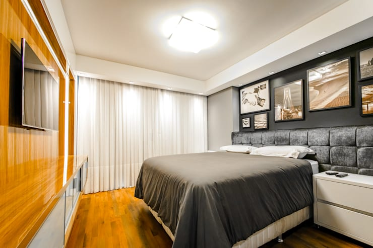 Bedroom by Saia Arquitetura