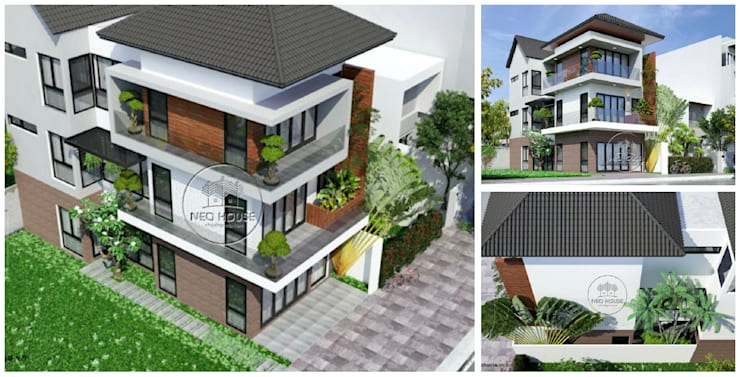 Thiết kế nhà phố hiện đại:   by NEOHouse