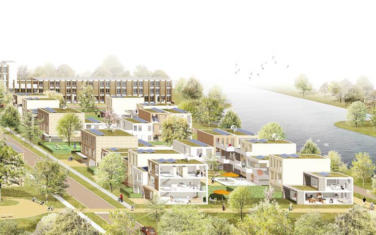 Care2Share Oosterparkwijk Groningen:  Gezondheidscentra door NOHNIK architecture and landscapes