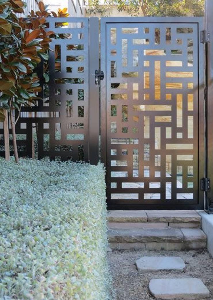 Portones Puertas Protecciones Celosias De Decortech