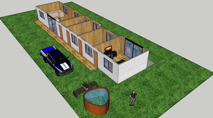 Diseño de espacios vivienda :  de estilo  por Constructora ANyG