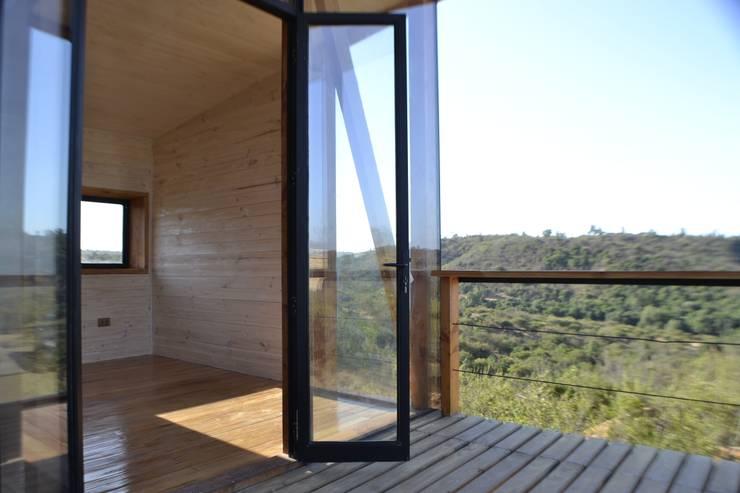 Dormitorio Principal: Dormitorios de estilo  por PhilippeGameArquitectos