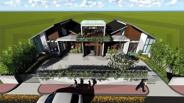 Proyek II Rumah Minimalis Modern Bapak Rafa - Depok 9 EXACON:   by Exacon Multi Rekayasa