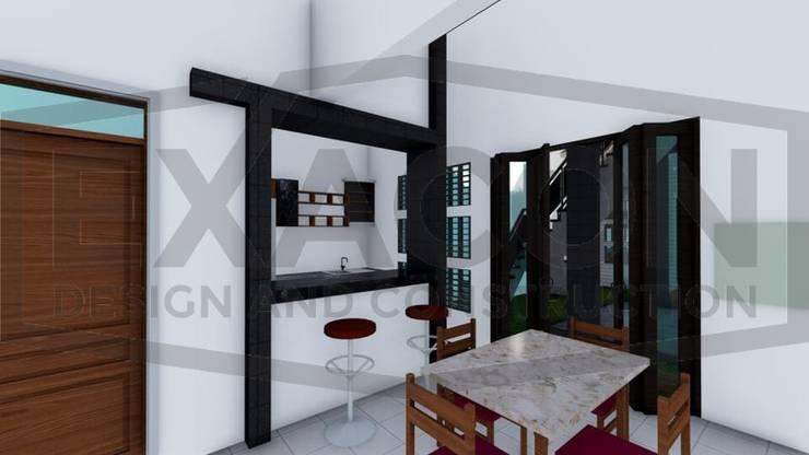 Proyek II Rumah Minimalis Modern Bapak Rafa - Depok 10 EXACON:   by Exacon Multi Rekayasa