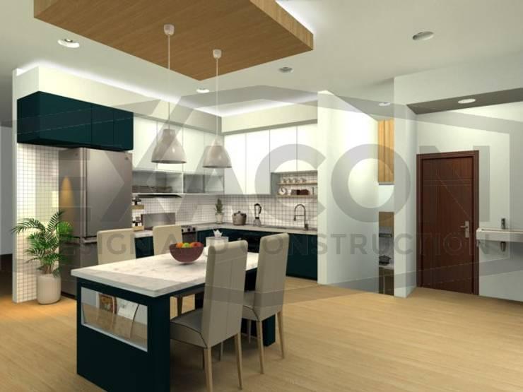 Desain Interior Rumah Minimalis Modern Bapak Tri - Jakarta Selatan 3:   by Exacon Multi Rekayasa