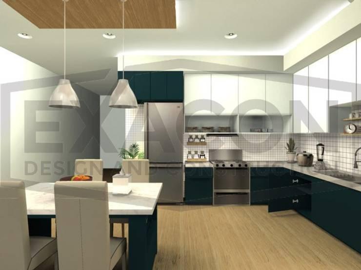 Desain Interior Rumah Minimalis Modern Bapak Tri - Jakarta Selatan 4:   by Exacon Multi Rekayasa