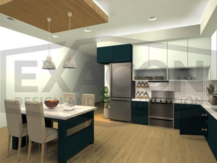 Desain Interior Rumah Minimalis Modern Bapak Tri - Jakarta Selatan 5:   by Exacon Multi Rekayasa