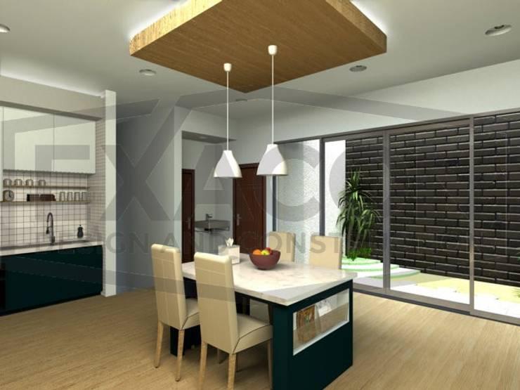 Desain Interior Rumah Minimalis Modern Bapak Tri - Jakarta Selatan 6:   by Exacon Multi Rekayasa