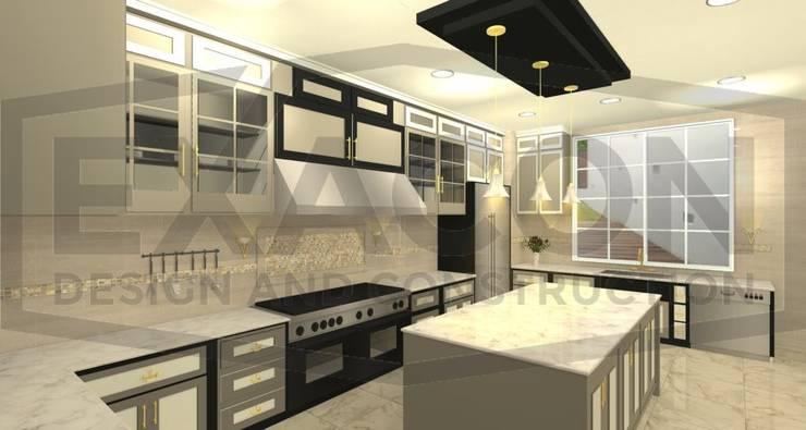 Desain Interior Classic Rumah Bapak Hasan – Depok 3 EXACON:   by Exacon Multi Rekayasa