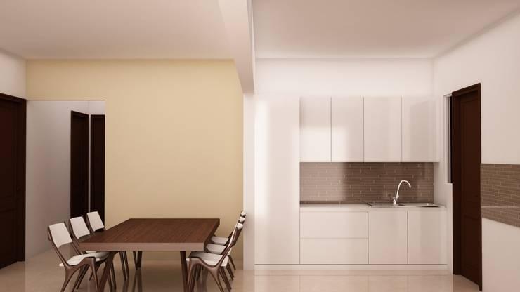 Kitchen Storage : modern Kitchen by NVT Quality Build solution