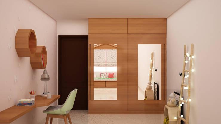 Kids Wardrobe: modern Nursery/kid's room by NVT Quality Build solution