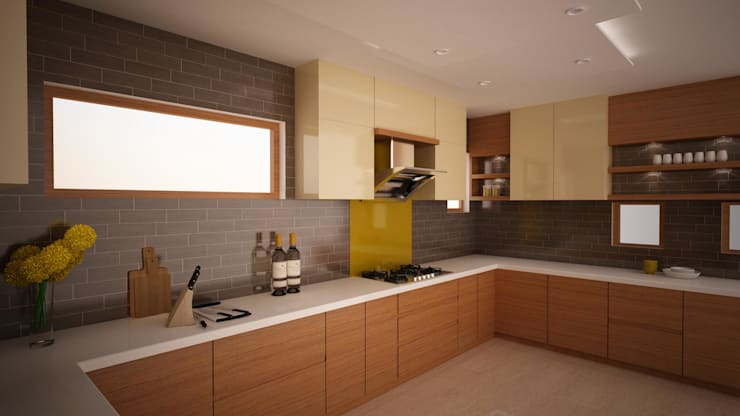 European style Kitchen:  Kitchen by NVT Quality Build solution