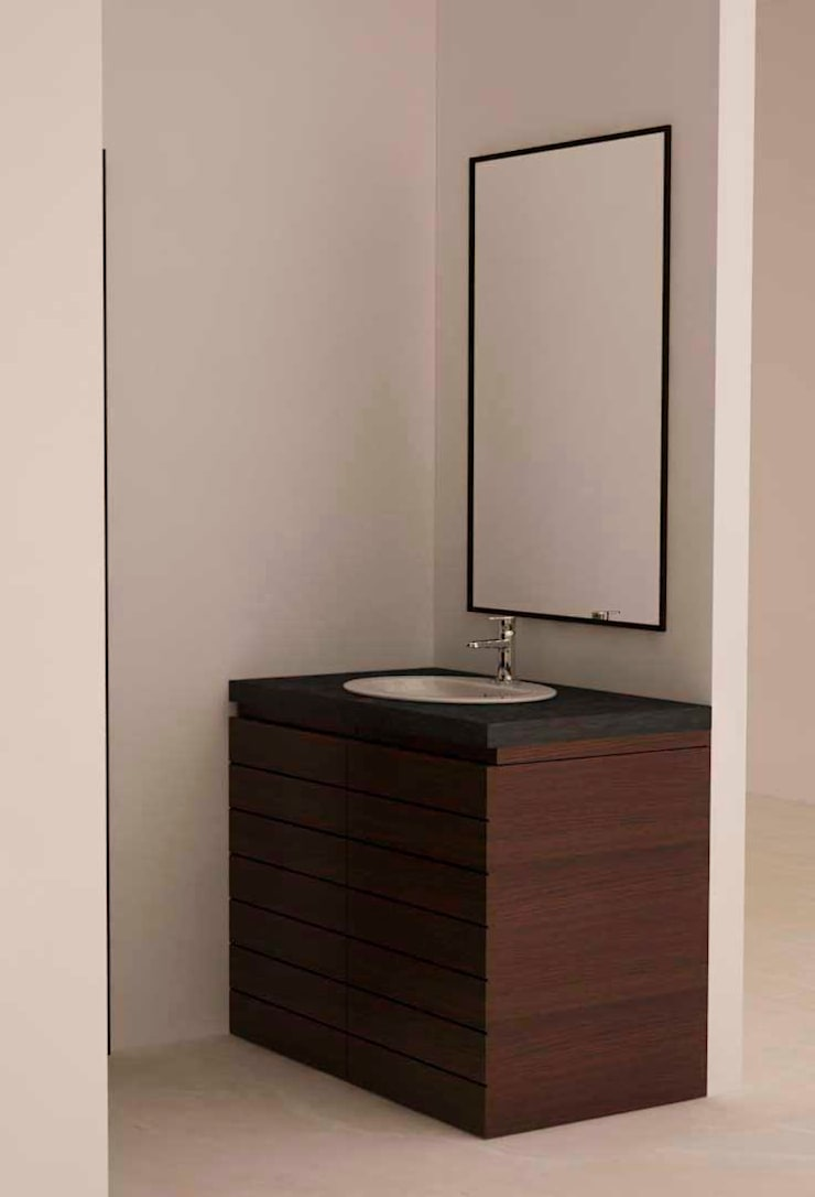 Vanity unit for washbasin :  Bathroom by NVT Quality Build solution