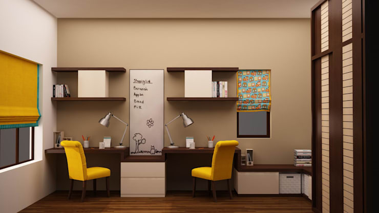 Kids Study Render : modern Nursery/kid's room by NVT Quality Build solution