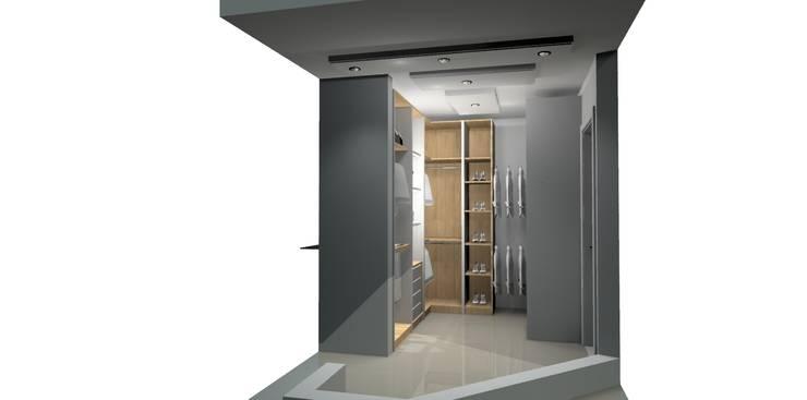vestier soñado: Closets de estilo  por Francis estilo
