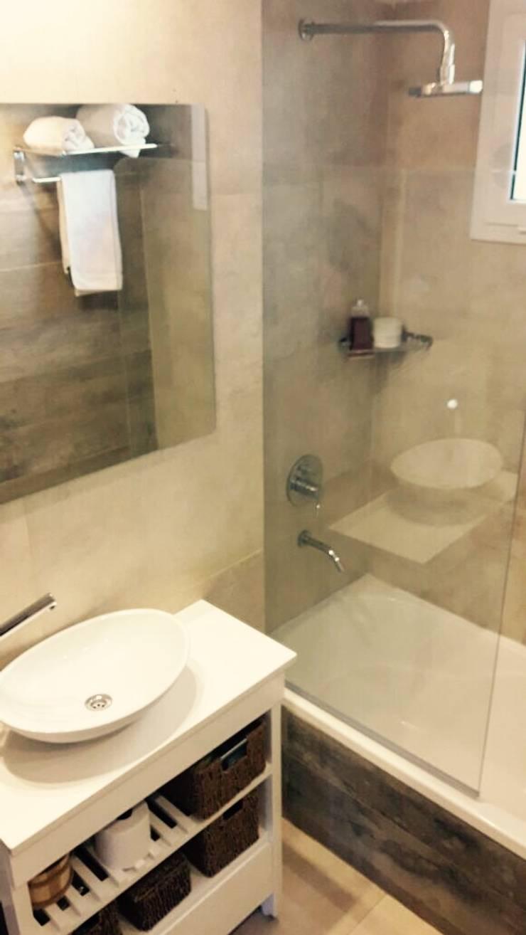 El Baño de Sole:  de estilo  por JORGELINA ALVAREZ  I arquitecta I