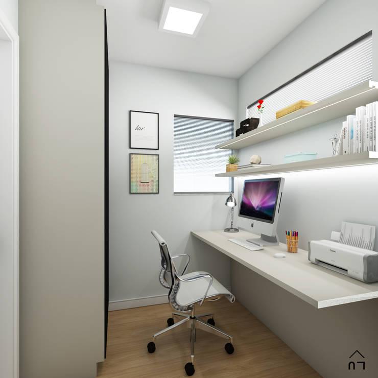 Home Office: Escritórios  por Luciane Veiga Arquitetura