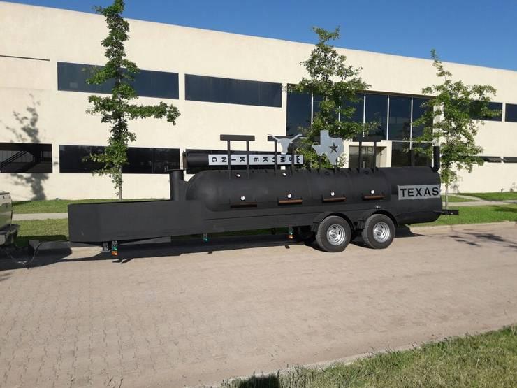 Trailer Texas:  de estilo  por Smoke King Ahumadoras,
