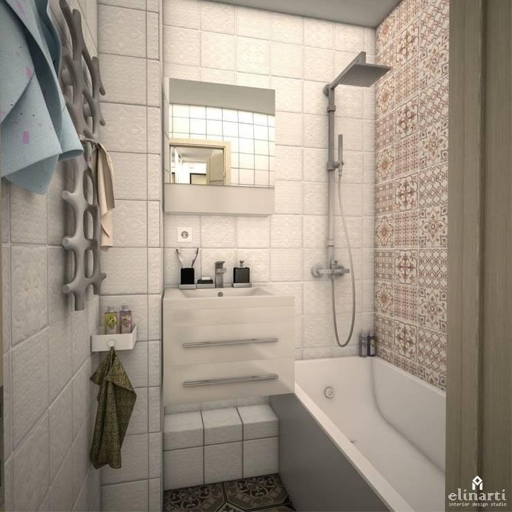浴室 by Студия дизайна Elinarti